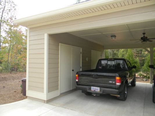 Carports Carport Storage Ideas Carport With Storage Shed Roof Design Carport Garage