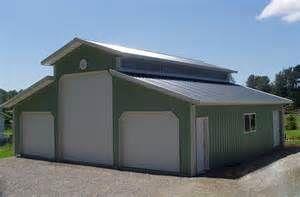 Pole Barns Pole Barn Plans And Rv Garage On Pinterest