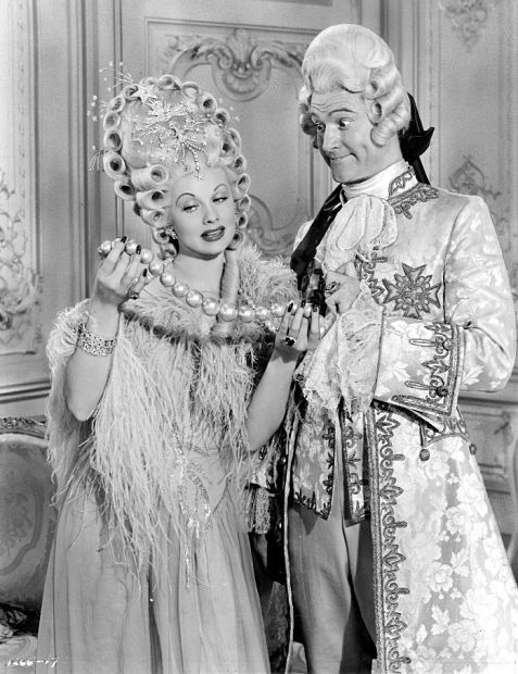 Lucille Ball, Red Skelton-- Du Barry Was a Lady