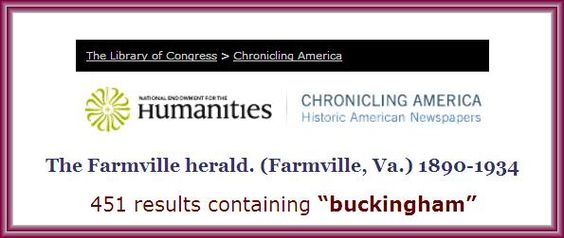 BUSINESS ADS IN THE HERALD ? - Surely there are some among the 451 search results that appear when the Library of Congress' CHRONICLING AMERICA historic newspaper collection is searched restricting results to THE FARMVILLE HERALD.