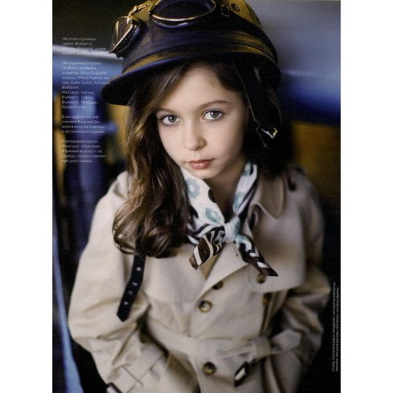 Vogue Russia Kids Editorial Fashion Editorial, Pre-Spring 2010 Shot #9 found on Polyvore