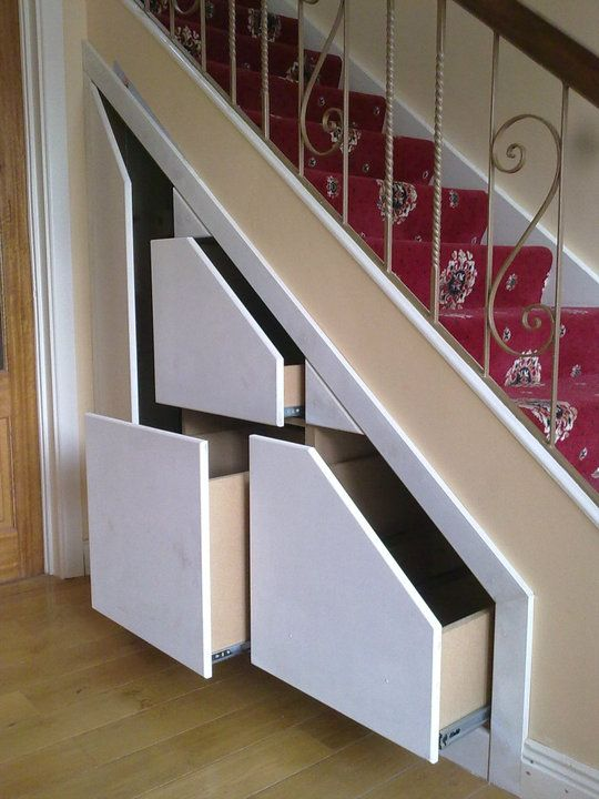 Storage Solutions With Class | Google images, Stair storage and Storage