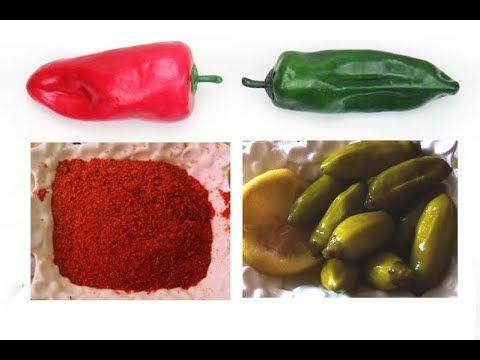 طريقة تجفيف فلفل حار و ترقاده تخليله هريسة روتيني Youtube Stuffed Peppers Vegetables Food