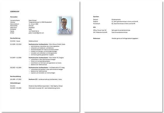 Lebenslauf Und Motivationsschreiben Vorlage Berufstatige Konservativ Vorlagen Lebenslauf Lebenslauf Lebenslaufvorlage