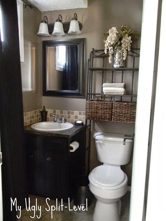 Inspiración Baños pequeños llenos de GRANDES soluciones!!! | Decorar tu casa es facilisimo.com: