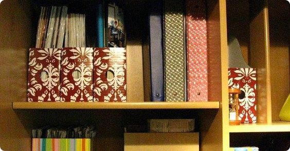 Best tips for organizing paper clutter.
