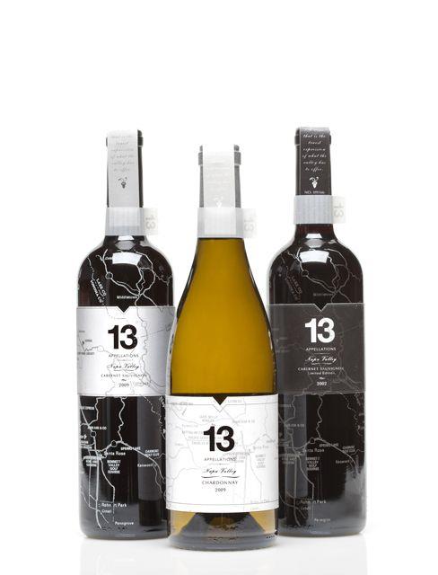Map design  #packaging #design #wine