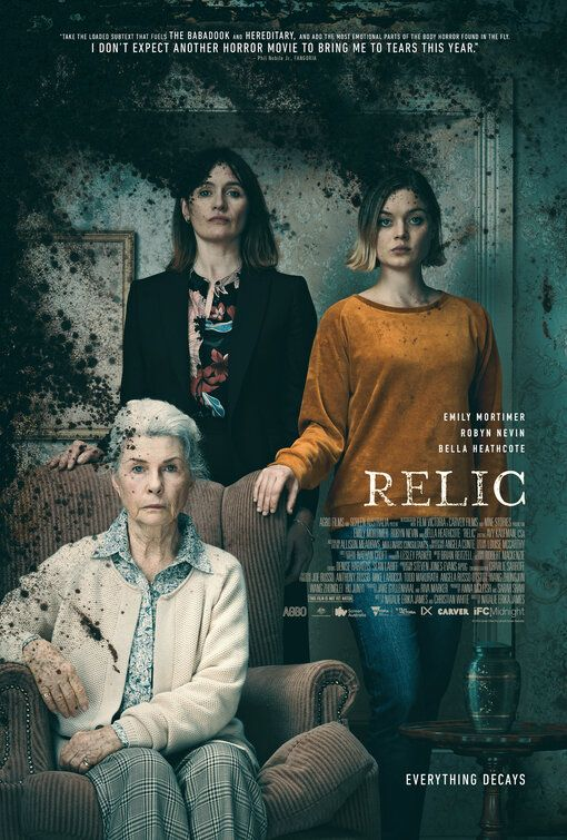 Click To View Extra Large Poster Image For Relic New Movie Posters New Movies 2020 Movies