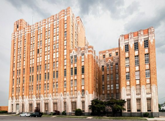 The Art Deco Former Michigan Bell Madison Central Office Detroit Art Deco Architecture World Best Photos Art Deco