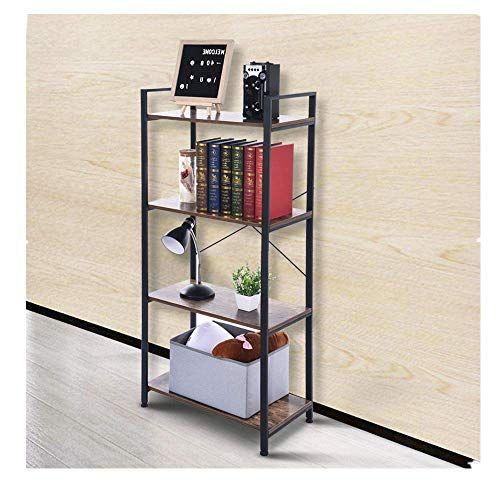 Giantex Ladder Shelf 3-Tier Wall-Leaning Bookshelf Ladder Bookcase Storage Display Shelf for Home and Office Black Multipurpose Plant Flower Stand Shelf