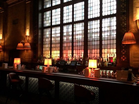 The Campbell Apartment Posh Speakeasy Style In Refurbished Former Office Hidden Grand Central Terminal