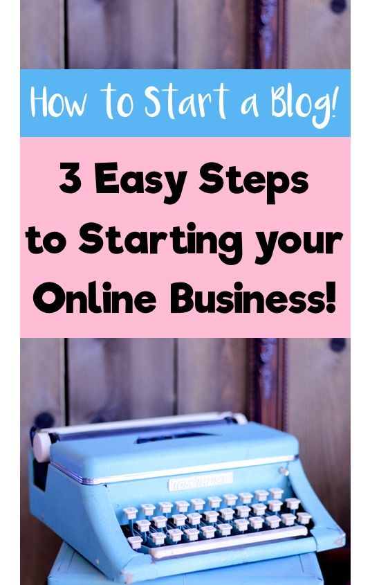 How to Start a Blog for Beginners!  3 Easy Steps and Tips for Starting a Business Online from TheFrugalGirls.com