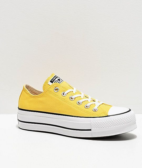 Converse Chuck Taylor All Star Ox Butter Yellow White