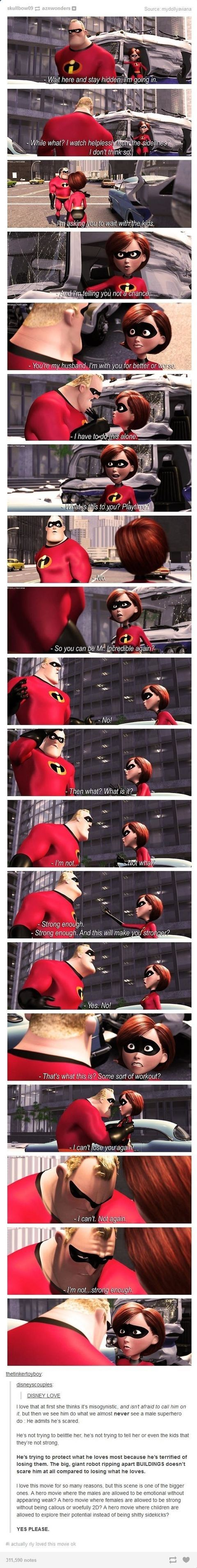 Love in the Incredibles. pardon the language