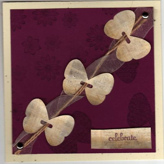 Papyrus Butterflies by dwallam - Cards and Paper Crafts at Splitcoaststampers