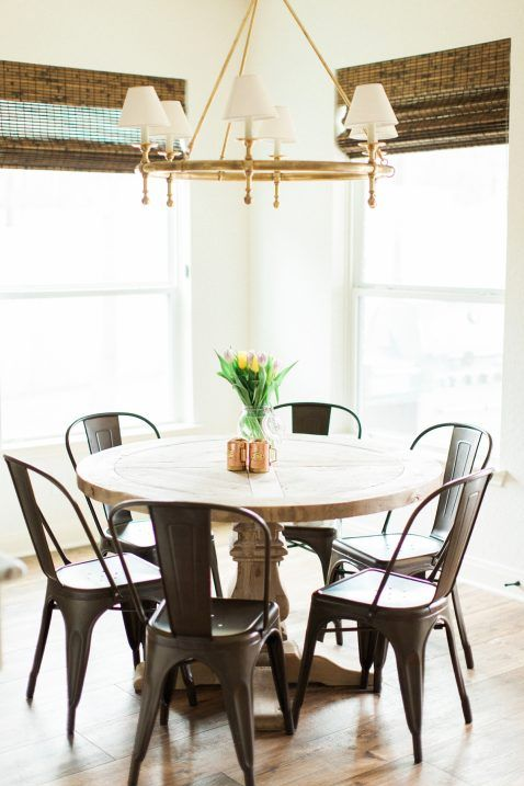 white and brass kitchen