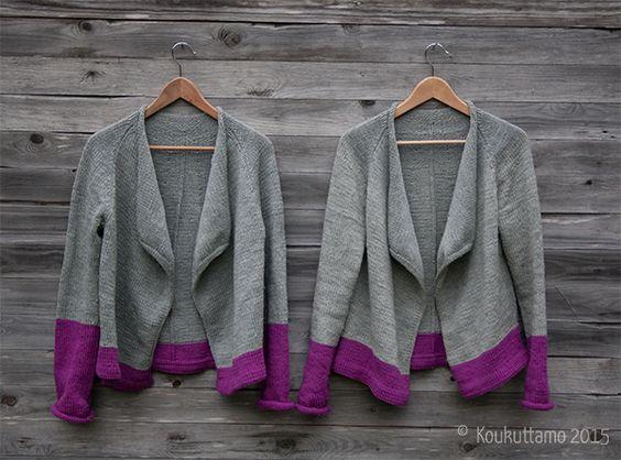 Audrey cardigan by Isabell Kraemer | Audrey-villatakki | Koukuttamo