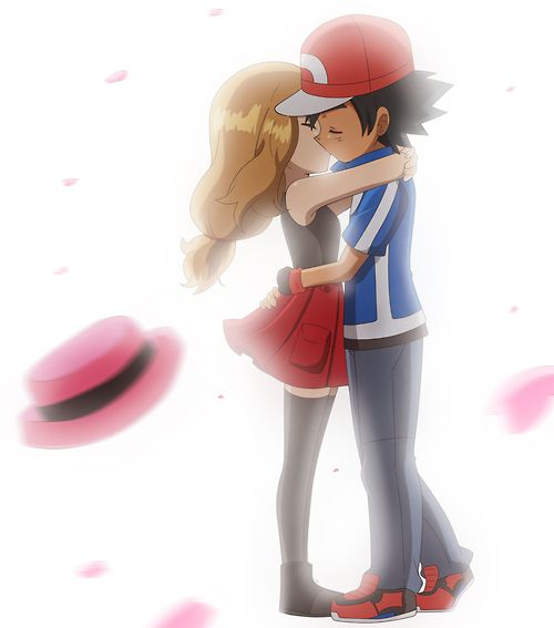 pok233mon the series xy amourshipping serena and ash