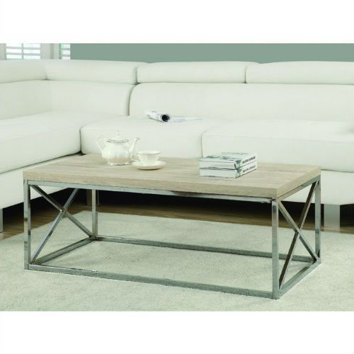 Home Living Room Coffee Tables Contemporary Chrome Metal Coffee Table W Rectangular Coffee Table Coffee Table Metal Coffee Table