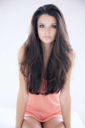 The reason why I'm never having a short hairstyle ever again. I'm going to grow out my hair this long! :)