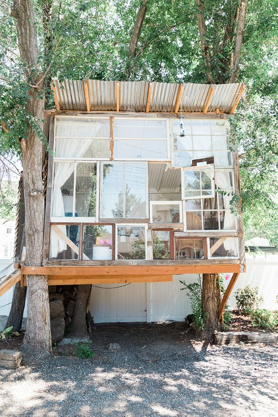 She shed craft retreat - The House That Lars Built