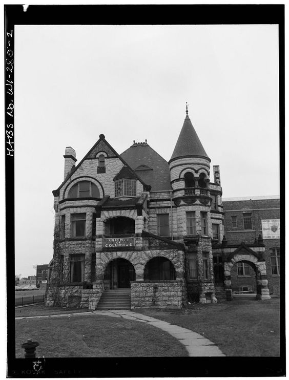 Elizabeth Plankinton House built in Demolished  October  once located at   1492 West Wisconsin Avenue Milwaukee Wisconsin. Pinterest   The world s catalog of ideas