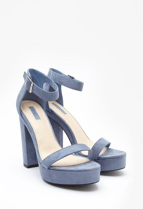 Sandaletten mit Plateausohle - Damen Schuhe und Stiefel   online shoppen   Forever 21 - 2000155635 - Forever 21 EU Deutsch