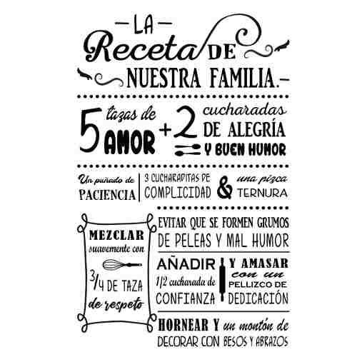 Vinilo Decorativo Para Pared Frase Reglas De Casa 44900