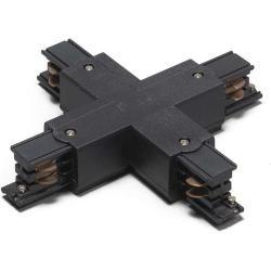 X Verbindungsstuck Fur 3 Phasen Schienensystem Schwarz Modern Innenbeleuchtung Qazqa In 2020 Schienensysteme Innenbeleuchtung Beleuchtung