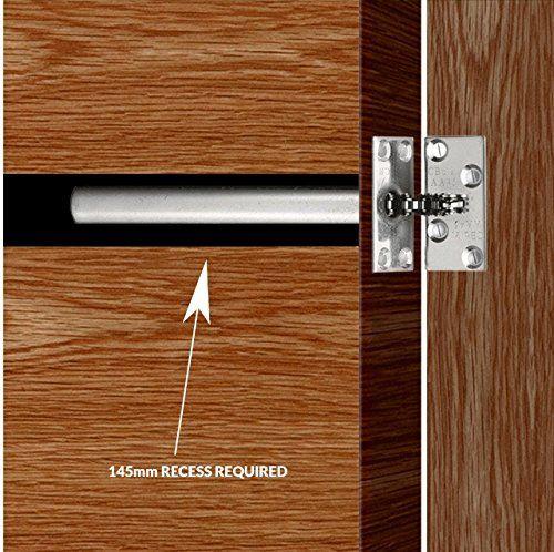 Xfort Concealed Door Closer Door Closer Chain Door Hinge Closer Provides Automatic Door Closer For Internal Doors Amazon Co Uk Kitchen Home