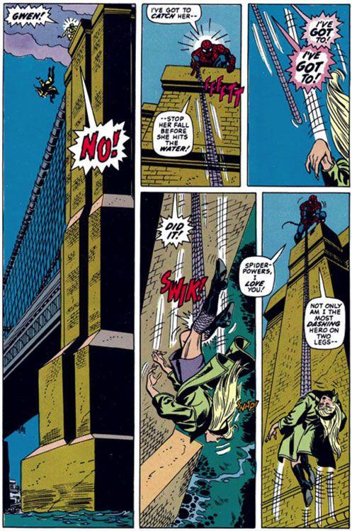 Página de The Amazing Spider-Man # 122