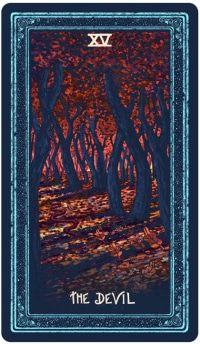 Tin mới Lá The Devil - Prisma Visions Tarot bài tarot