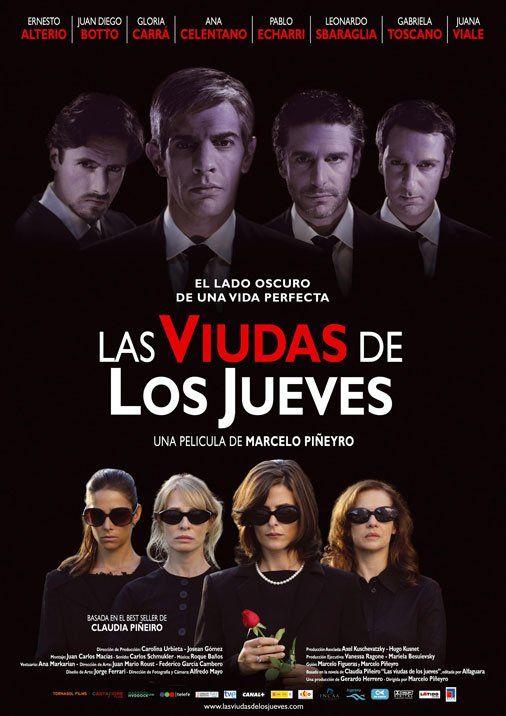 L Affiche Originale Du Film Las Viudas De Los Jueves En Espagnol Cine Y Literatura Cine Peliculas