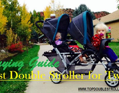 "Check out new work on my @Behance portfolio: ""Best Double Stroller for Twins…"
