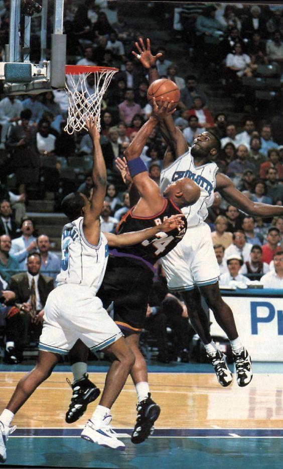 Charles Barkley vs. Larry Johnson | Basketball | Pinterest
