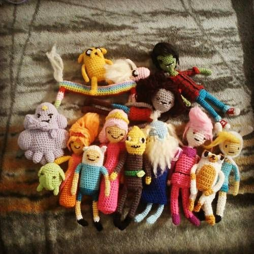 Adventure Time Army! **MORE Characters and LSP Pattern** - CROCHET