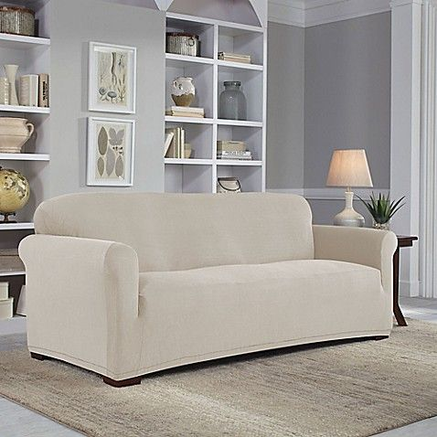 Perfect Fit Easy Fit Sofa Slipcover Furniture Slipcovers Slipcovered Sofa Loveseat Slipcovers