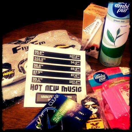 Loads od #freebies by #flyfm #zoomers / #troopers !!! Lots of #love !!! #tq !!!