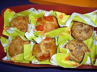 Käse-Schinken-Muffins  Tomaten-Muffins
