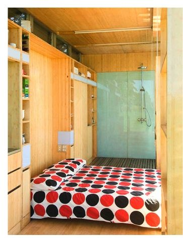 Shipping Container interior