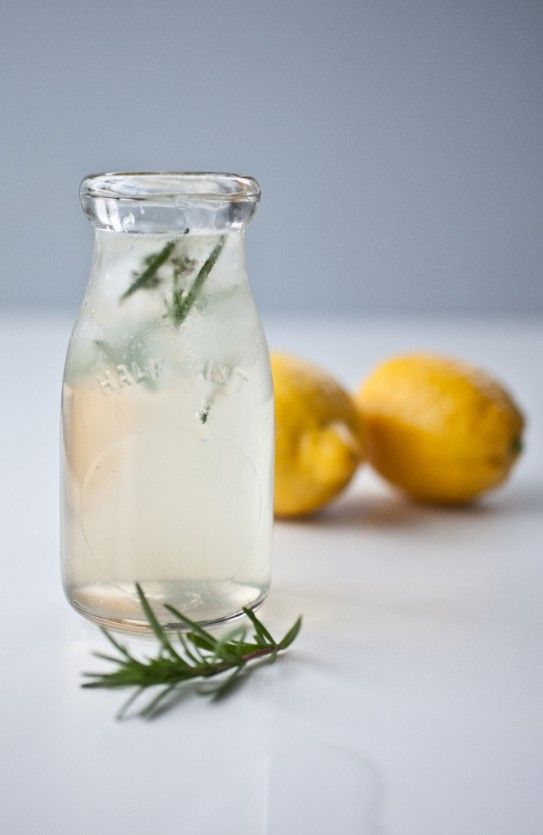 honey herb soda...simple...refreshing