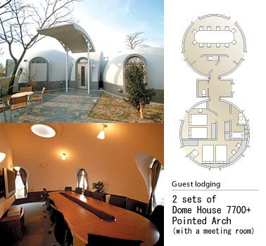 2 sets of Dome House -Pointed Arch
