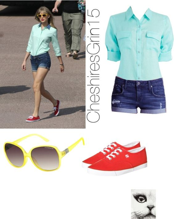 """•Taylor Swift Style Steal•"" by cheshiresgrin15 on Polyvore"