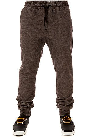 The Slapshot Sweatpants in Black Marle
