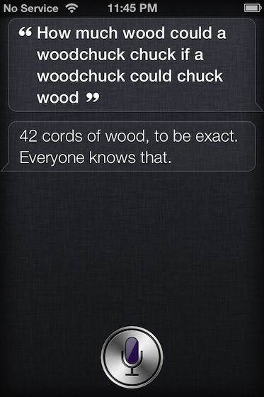 10 awesome things said by Siri (funny even though I don't have an iPhone!)
