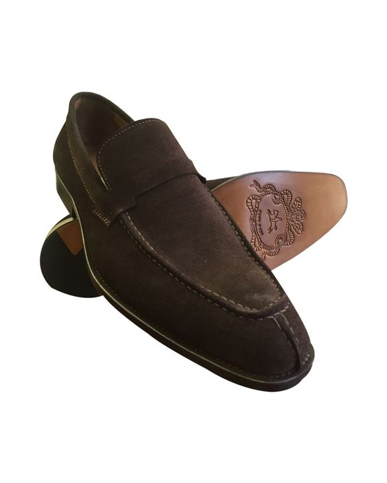 awesome Brown Suede Slipper