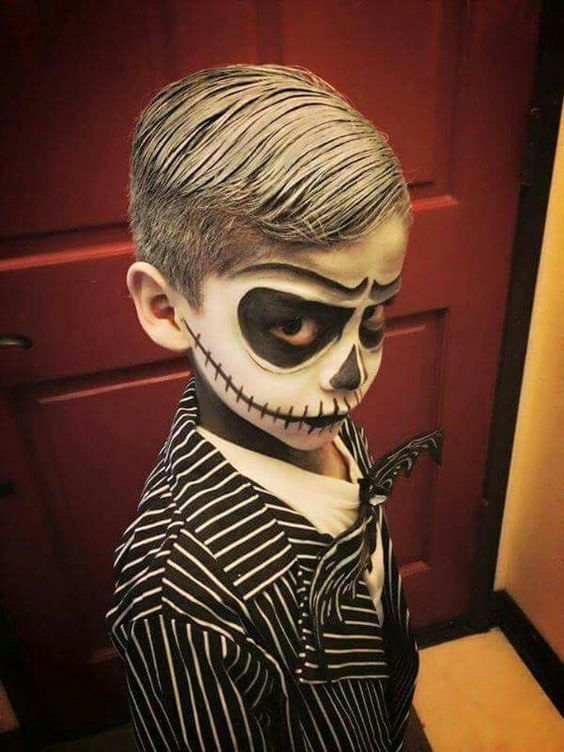 Baby Boy Makeup : makeup, Scary, Funny, Halloween, Costumes, Munchkins, Planet, Skellington, Costume,, Boys,, Unique, Costume