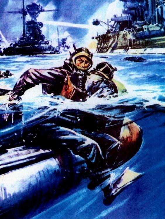 Italian Combat Divers Decima Mas WW2