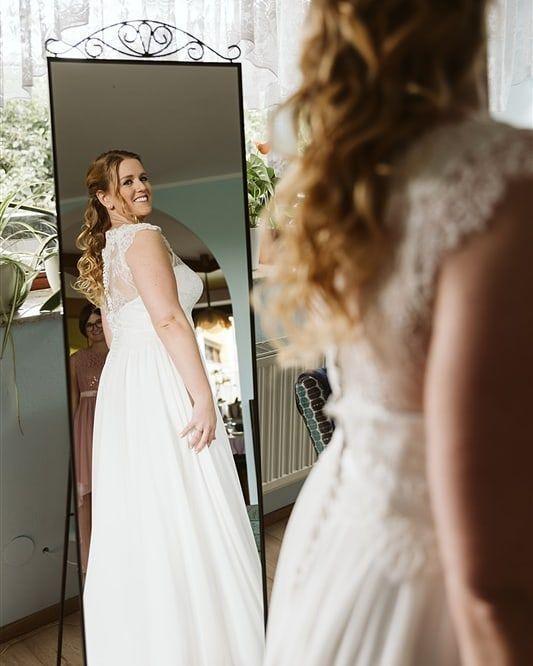 Let The Day Begin Gettingready Weddingdress Bridaldress Hochzeitsfotografin Hochzeit Hochzeitsreportage W In 2020 Wedding Dresses Lace Wedding Dresses Dresses