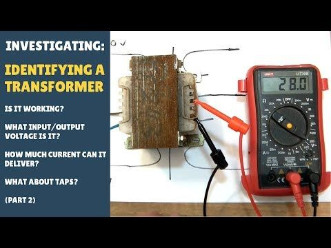 Find Input Current Output Voltage And Power Of This Transformer Youtube Electronics Projects Electronic Circuit Projects Transformers
